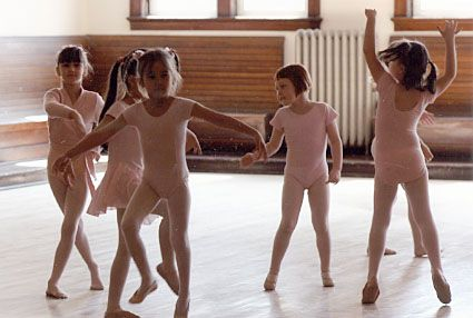 Featured image for The Tattooed Dad and His Daughter – How To Keep Cool in Ballet Class