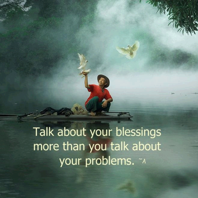 talk about blessings quote