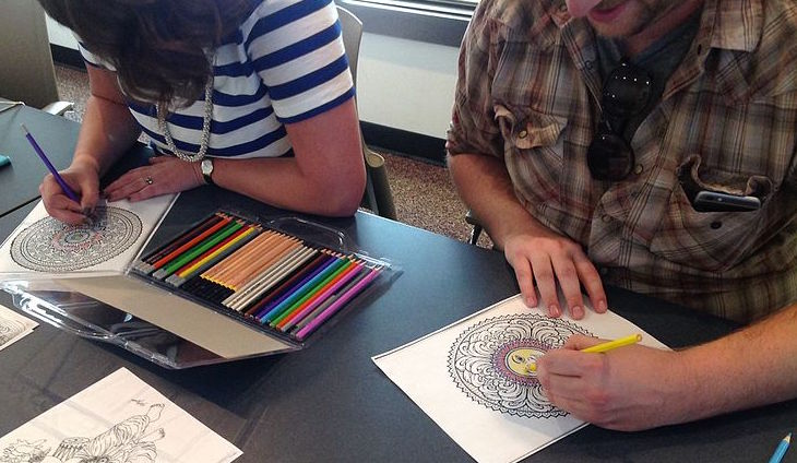 benefits adult coloring books
