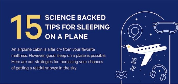 Featured image for How to Sleep on a Plane According to Science